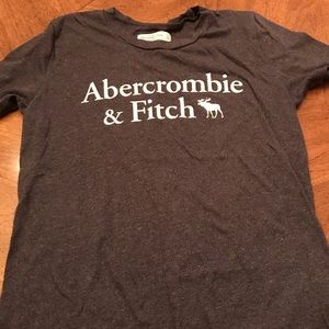 Abercrombie & Fitch gray short sleeve T size XS